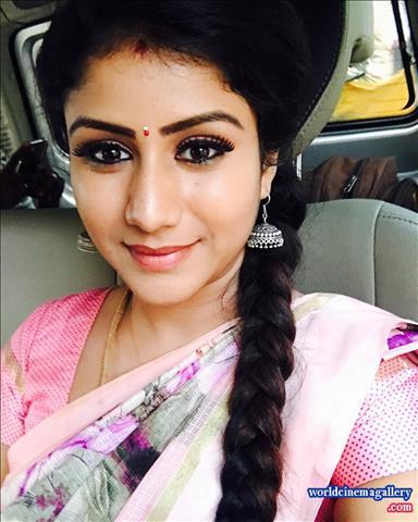 Raja Rani serial actress semba Alya Manasa Stills